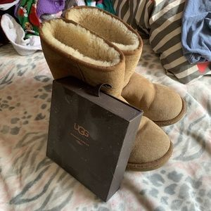 Ugg Boots with cleaning materials